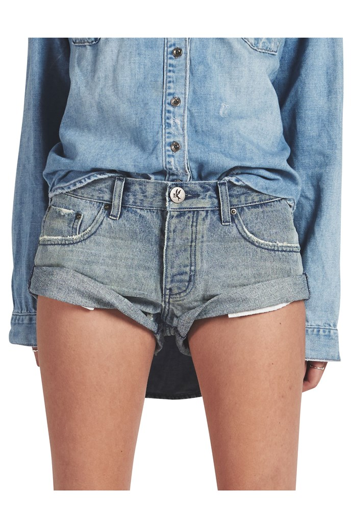 Blue Storm Bandits Denim Short