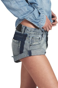 Blue Storm Bandits Denim Short - blue storm