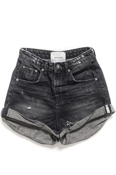 Black Sea Bandits High Waist Denim Short BLACK SEA 1