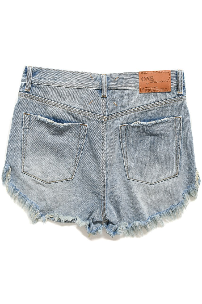 270cce4cae ... Storm Boy Outlaws Mid Length Denim Short. Quick Look. ONE TEASPOON