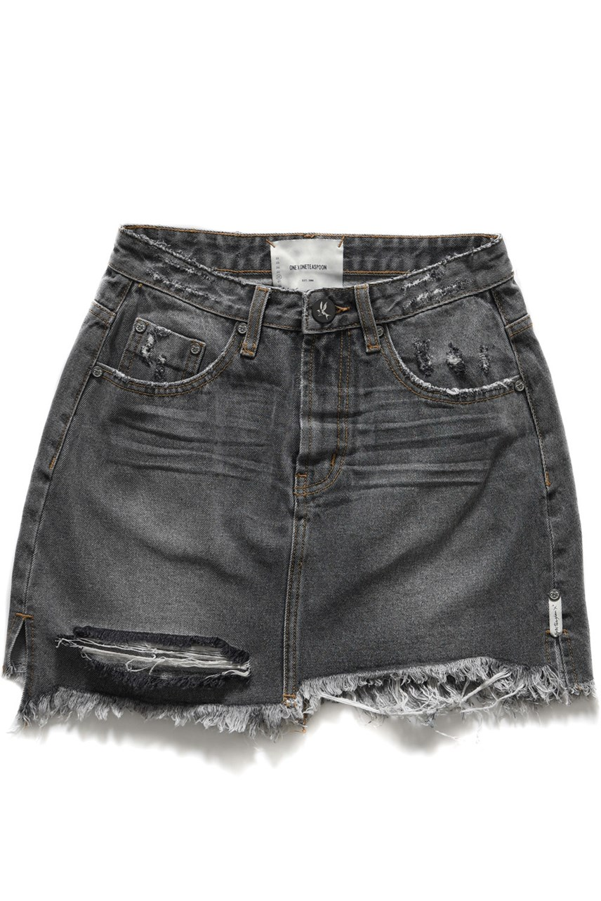 Viking 2020 Mini High Waist Denim Skirt