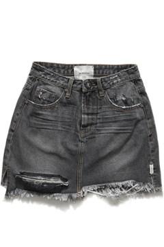 81ae538d24 Viking 2020 Mini High Waist Denim Skirt - ONE TEASPOON - Smith ...