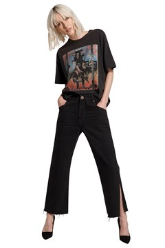 Libertines High Waist Cropped Jean VULTURE 1
