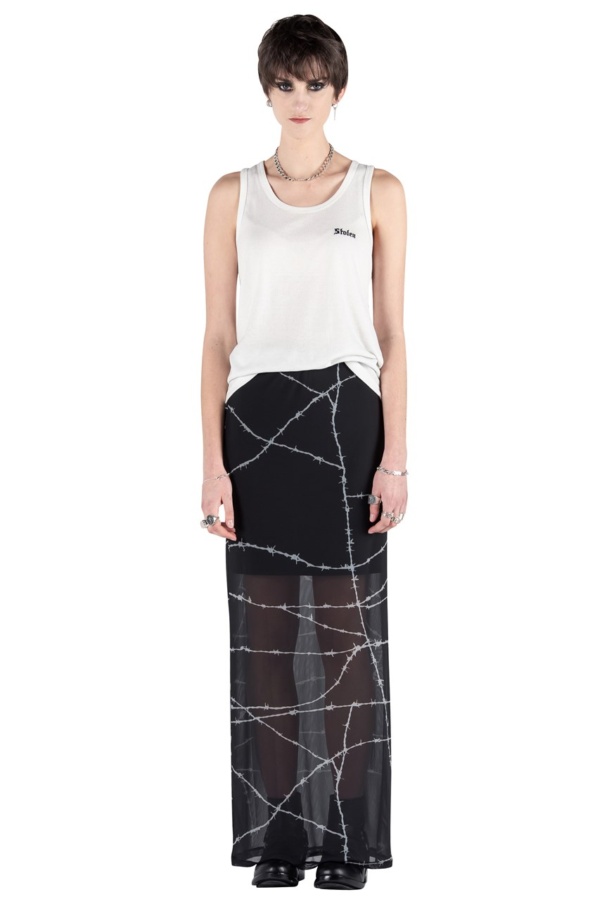 Electric Wire Sheath Skirt