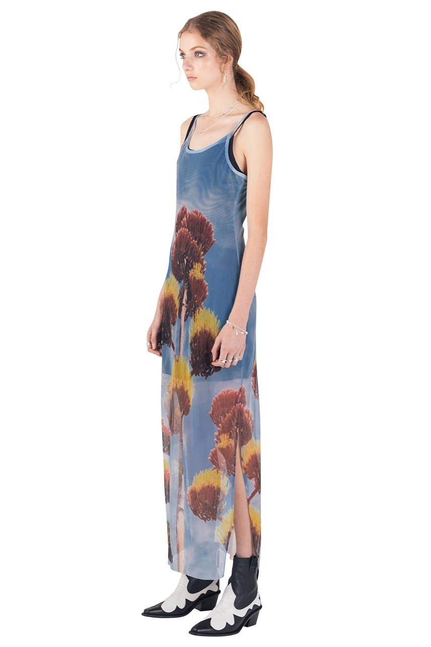Desert Flower Midi Dress