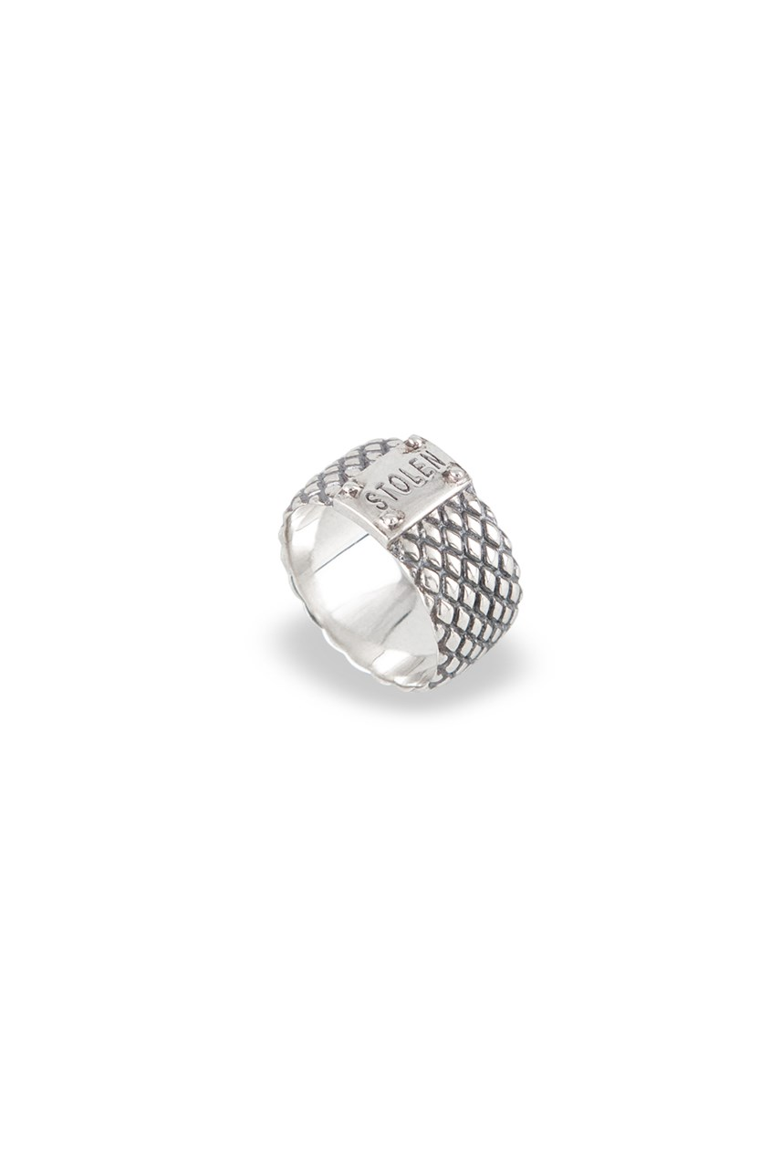 Snake Band Ring - Wide