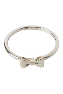 Baby Bow Ring SILVER 1