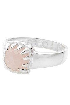 Baby Claw Ring ROSE QUARTZ 1