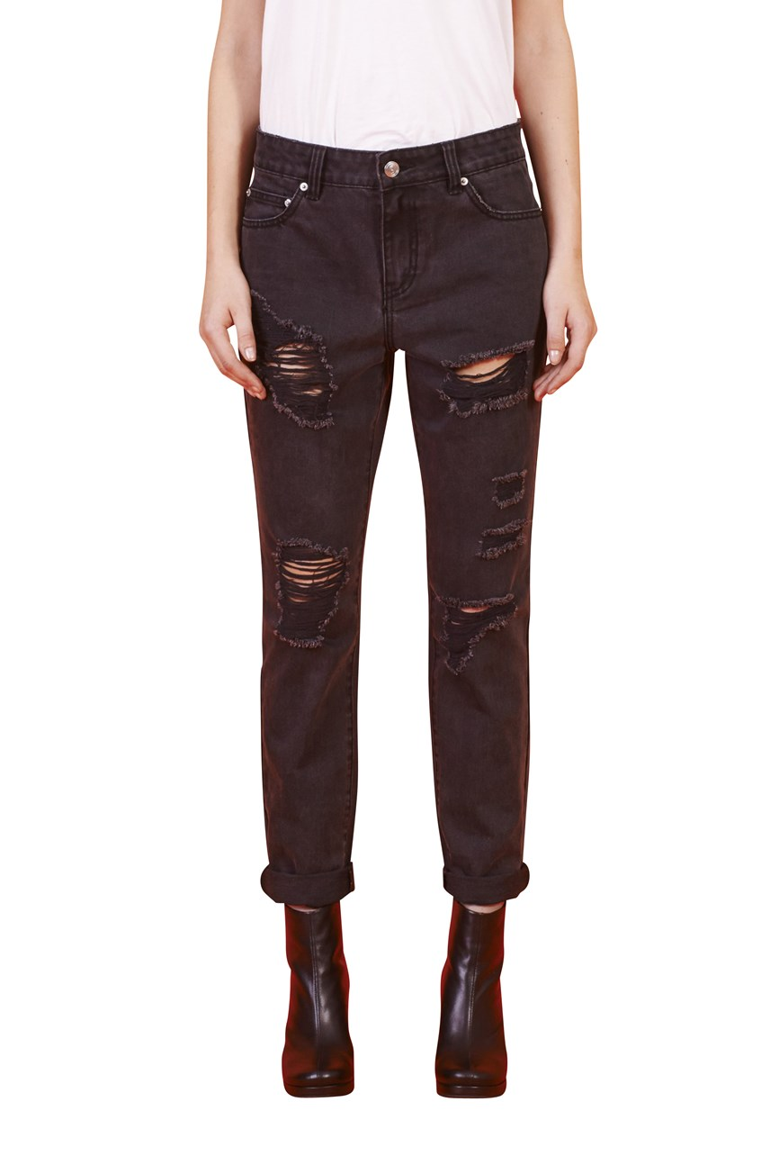 'Baby Strange' Mid Rise Relaxed Jean