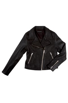 Essential Biker Jacket BLACK 1