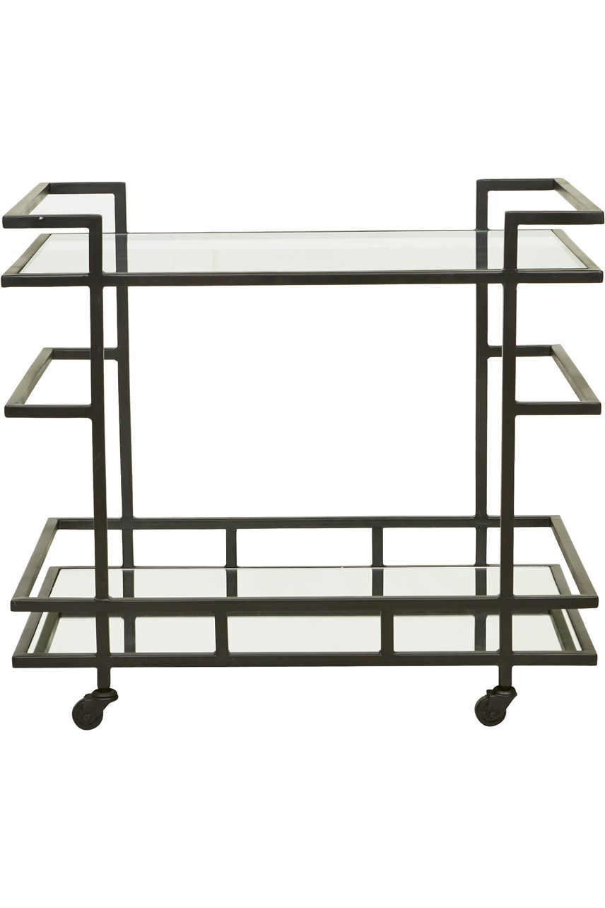 Vionnet Deco Bar Cart