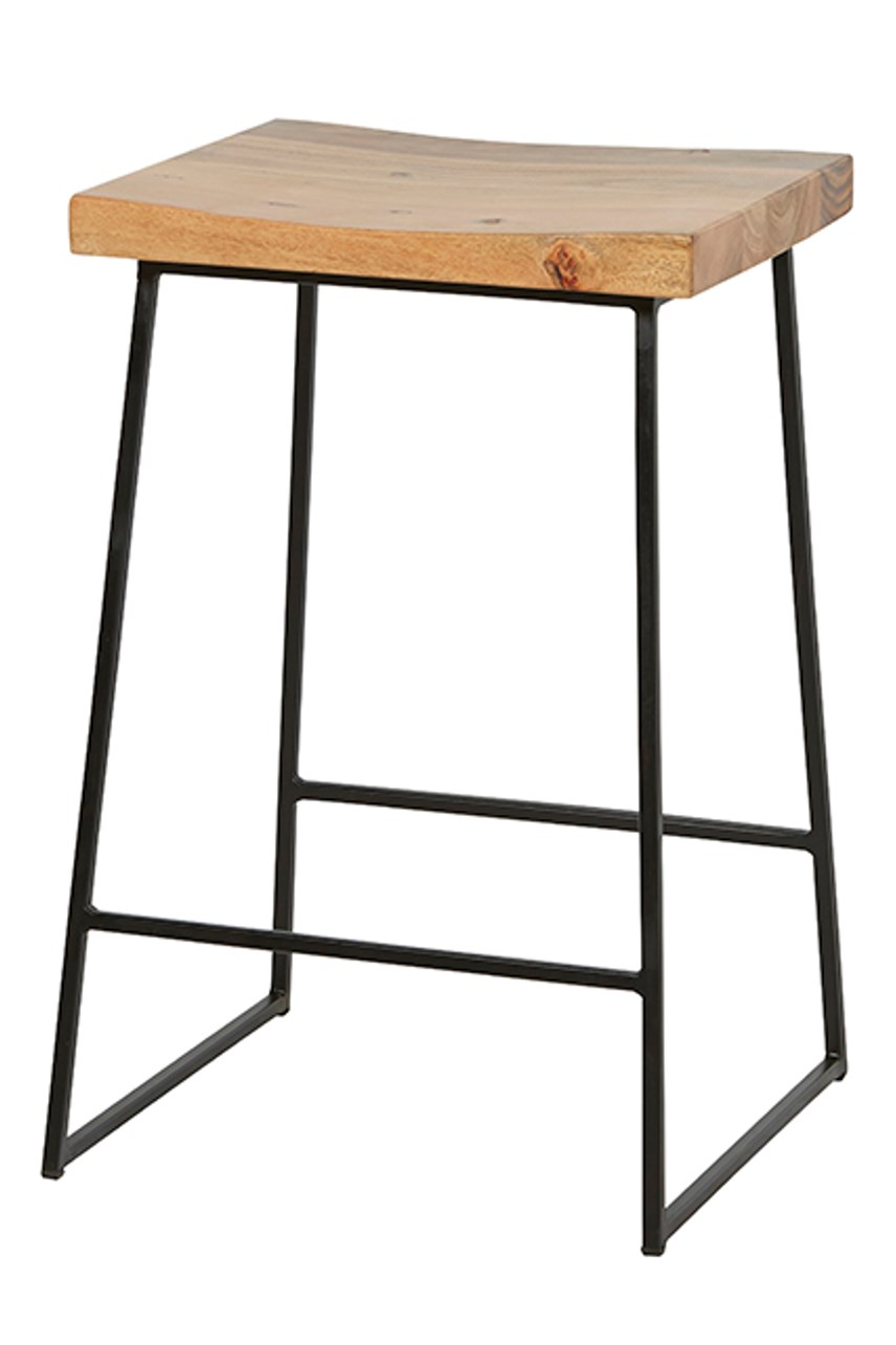 Shelter Rectangular Barstool