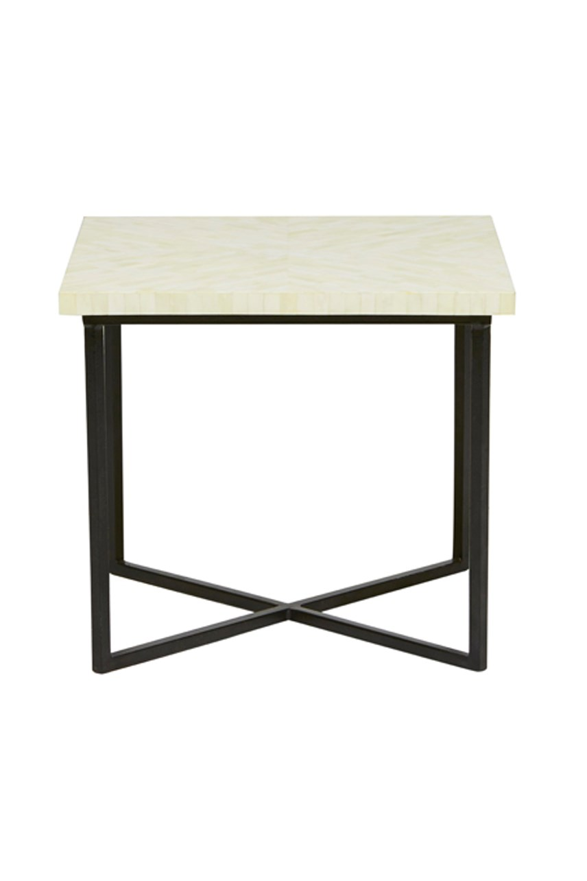 Taj Feather Side Table