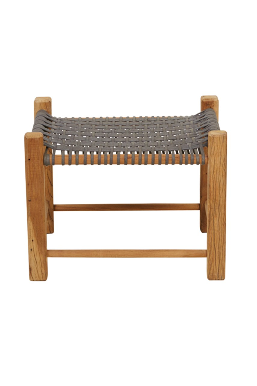 Balthazar Rope Rectangular Stool