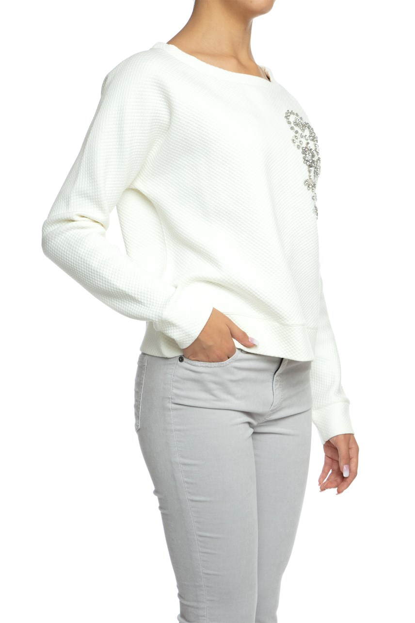 Gemstone Embellished Sweater