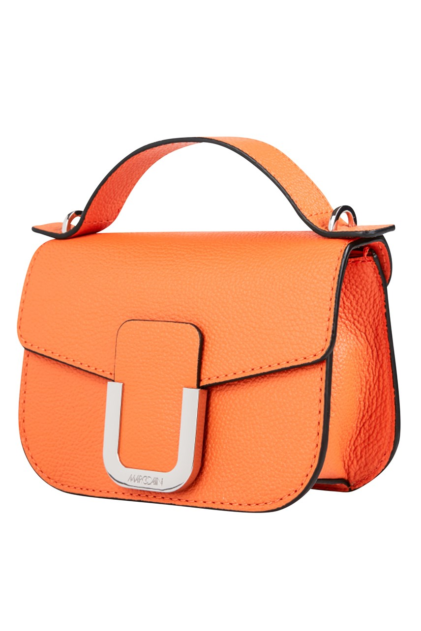 Leather Bag with Removable Strap