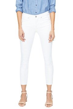 Ami Skinny Ankle Jeans OPTIC WHITE 1