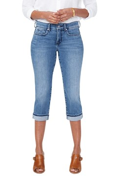 Marilyn Straight Crop Jeans AQUINO 1