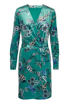 Ocean Wrap Dress OCEAN FLOWER 1