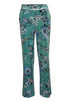 Ocean Wide Leg Velour Trouser OCEAN FLOWER 1