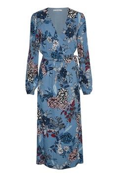 Begonia Wrap Dress LIGHT BLUE F 1