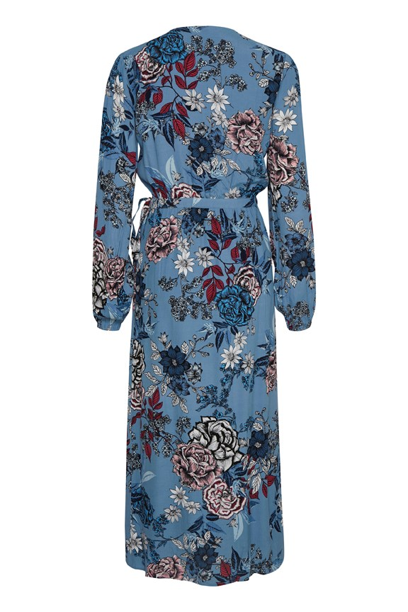 Begonia Wrap Dress