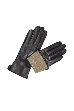 Carianna Leather Gloves - black