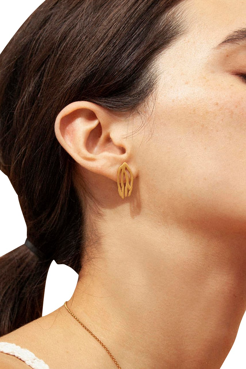 Galera Small Gold Earrings