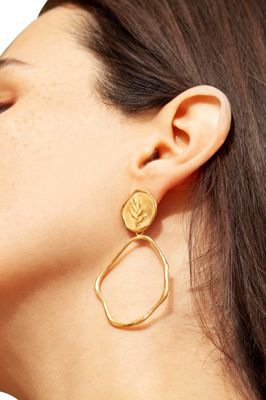 Portlligat Gold Earrings