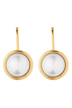 Gold 'Lulu' Earring GOLD/WHITE 1