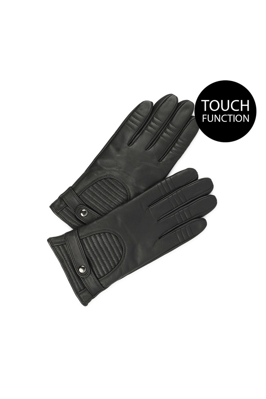 Marla Touch Function Leather Gloves