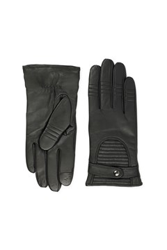 Marla Touch Function Leather Gloves - black