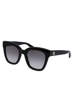 Square-frame Acetate Sunglasses BLACK 1