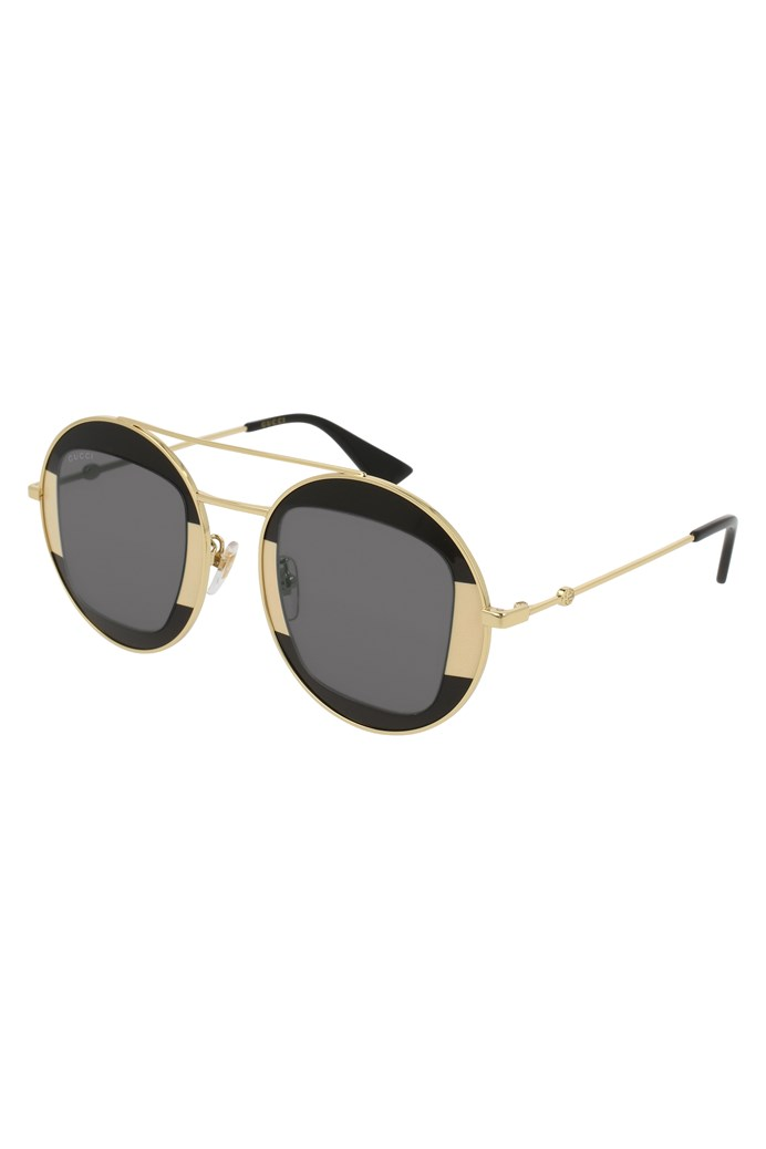 ef910527dcf Round-frame Metal Sunglasses - GUCCI - Smith   Caughey s - Smith and ...