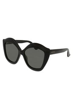 Cat Eye Acetate Sunglasses - black