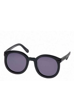 'Super Duper Strength' Round Sunglasses BLACK 1