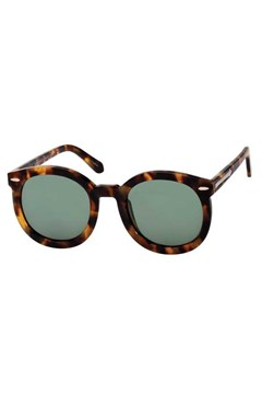 'Super Duper Strength' Round Sunglasses CRAZY TORTOISE 1