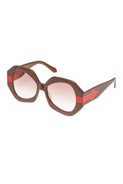 Phoenix Sunglasses - taupe orange