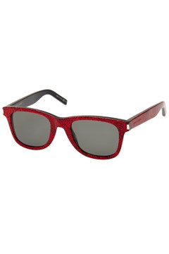 Red Glitter Sunglasses RED 1