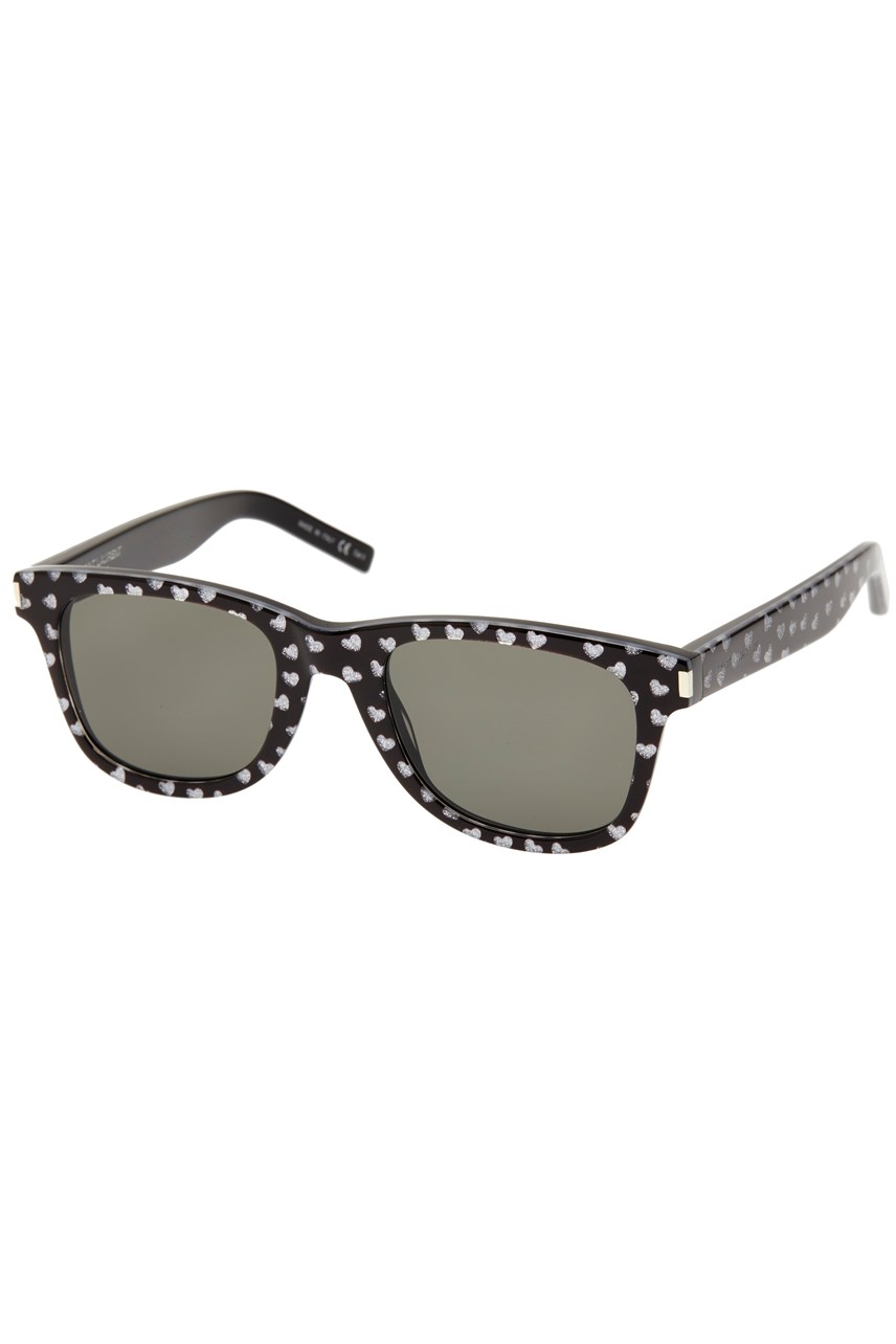 Black Heart Detail Sunglasses