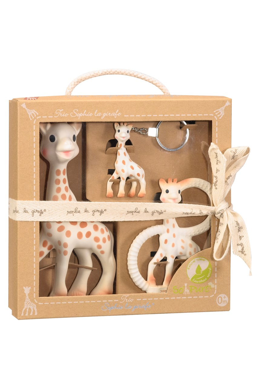 Sophie the Giraffe So'Pure Trio Pack