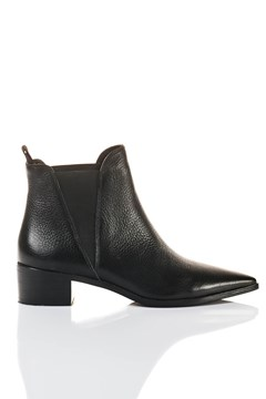 N.Y Pointed Boot BLACK 1
