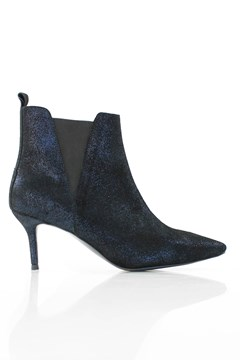 Rock Ankle Boot BLACK BLUE GLITTER 1