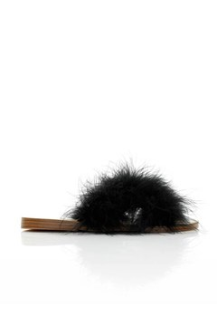 Feather Slide BLACK 1