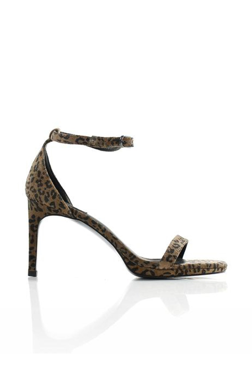 Strappy Heel - Animal