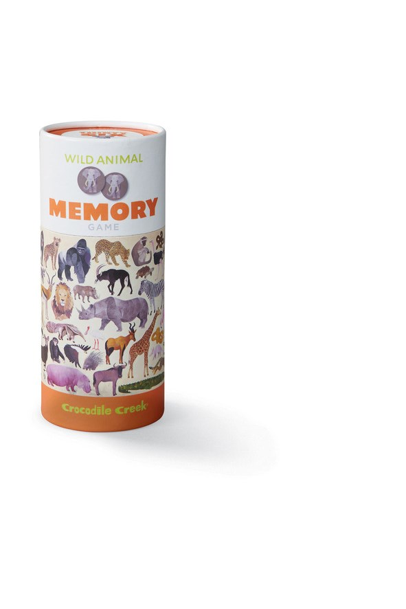 Wild Animals Memory Game