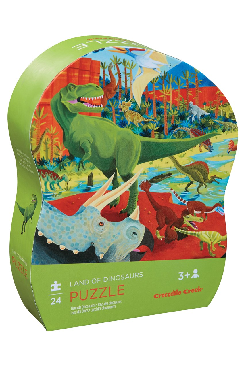 Land Of Dinosaurs Puzzle 24 Piece