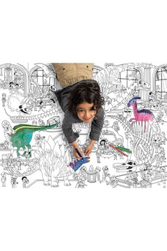 Dinosaur Giant Colouring Poster -
