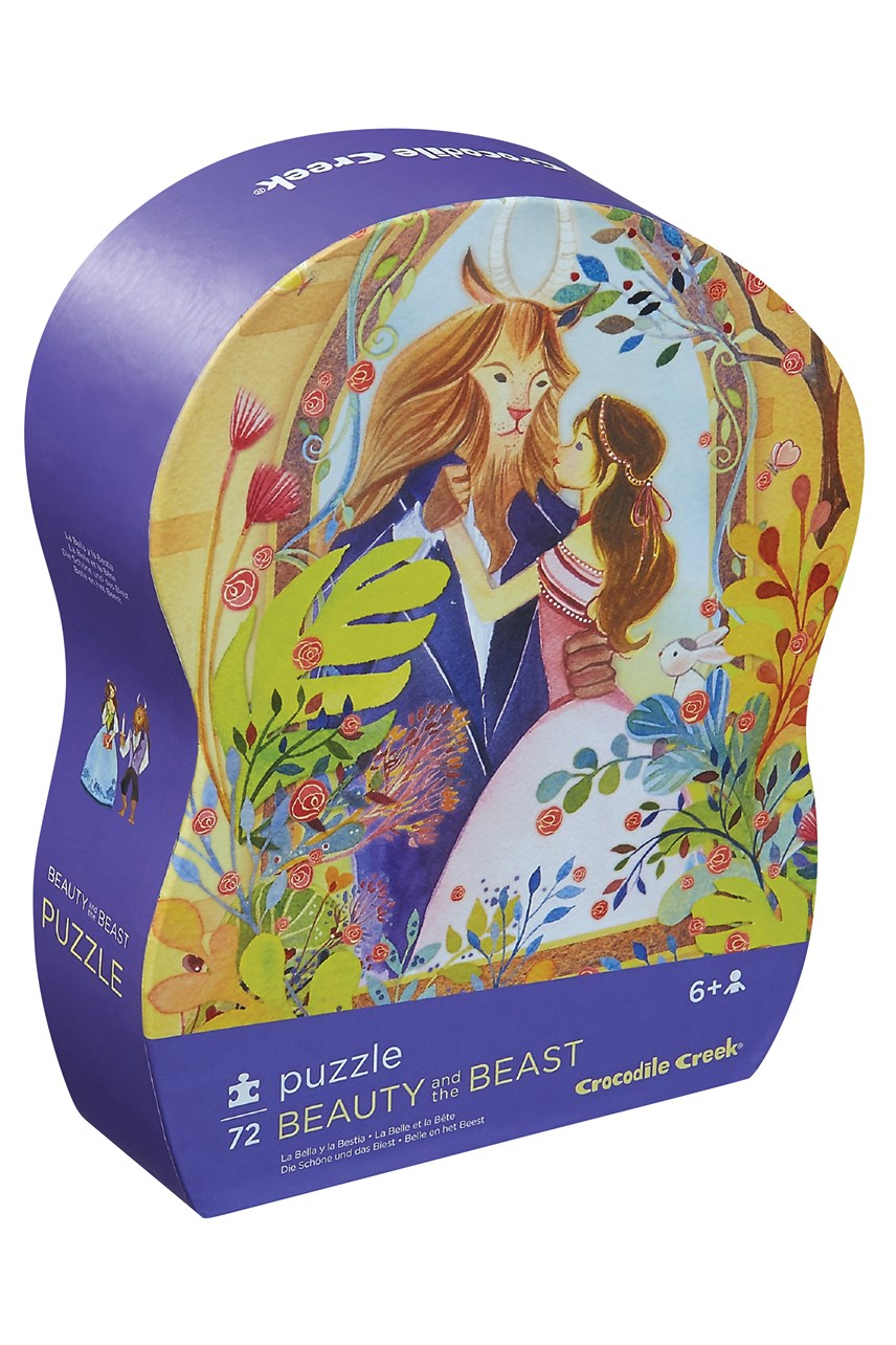 Beauty And The Beast Puzzle 72 Piece