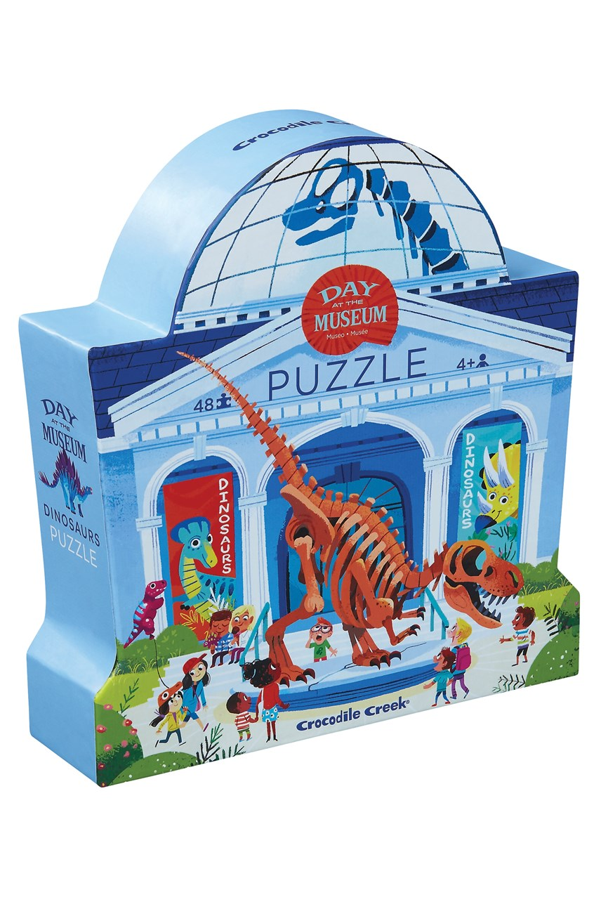 Day At The Museum Dinosaurs Puzzle 48 Piece